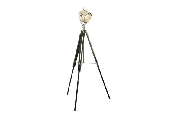 Nickel Tripod Spotlight