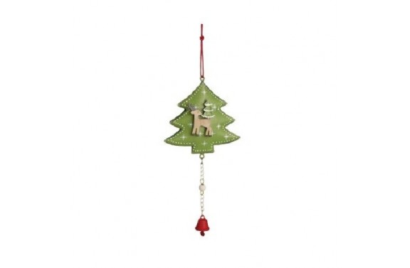 Christmas Tree and Reindeer Decoration