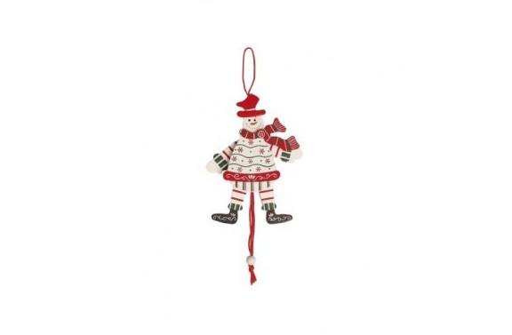 Dancing Snowman Christmas Tree Decoration