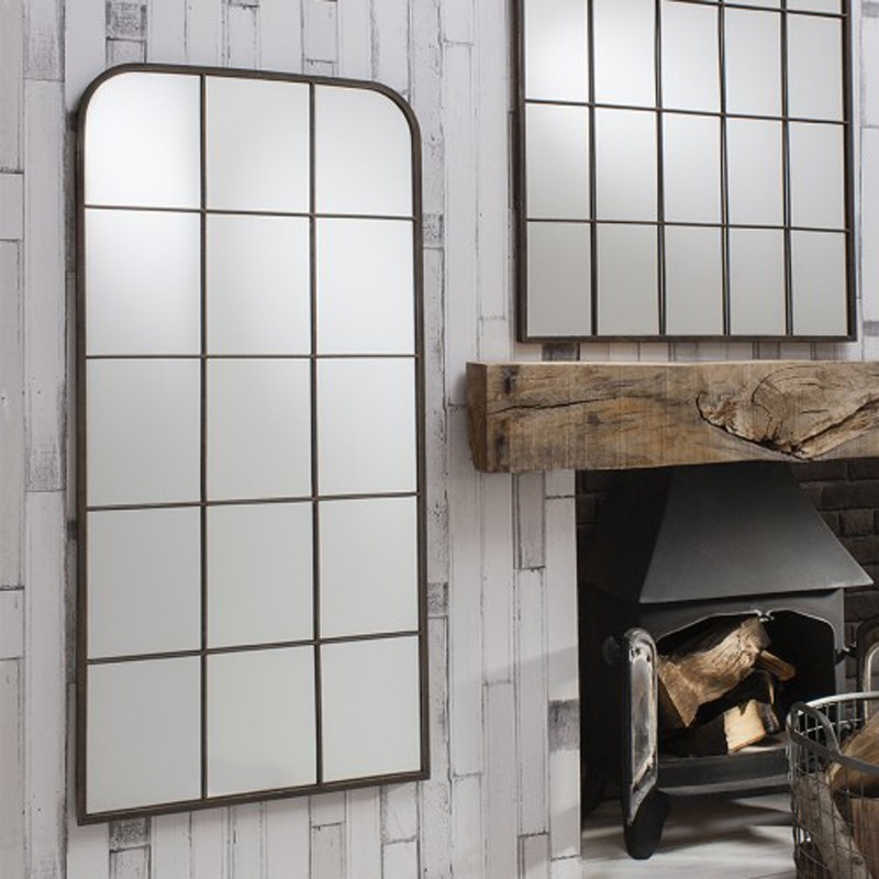 Industrial Rectangular Mirror