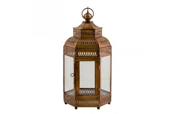 Copper Temple Lantern