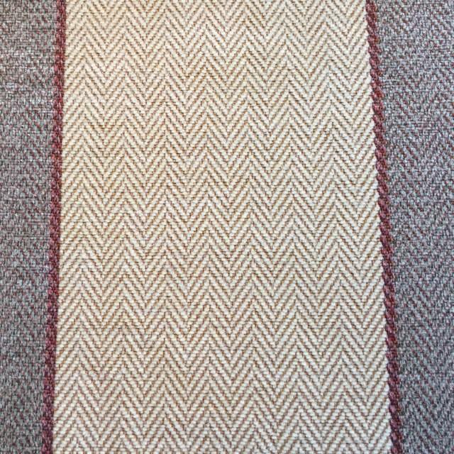 Heather/Berry Wide Stripe