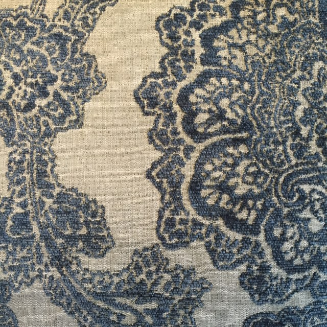 Midnight Floral Chenille