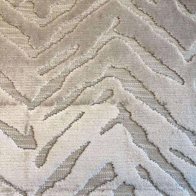 Natural Zebra Velvet