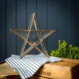 Small Glass Star Candle Holder