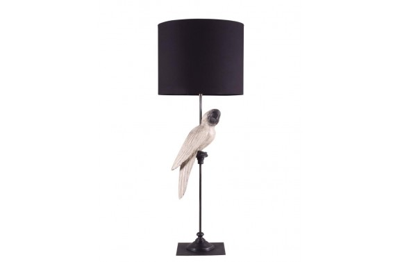 White Parrot Table Lamp
