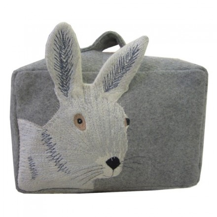 Grey Mr Hare Doorstop
