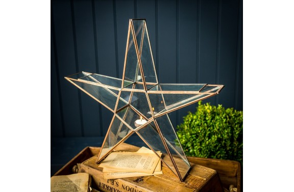 Large Star Candle holder