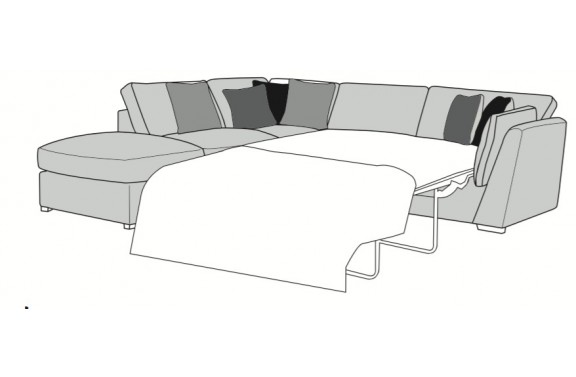 Wimbledon Corner Chaise Sofa Bed