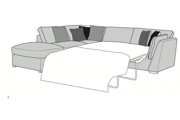 Wimbledon Corner Chaise Sofa Bed