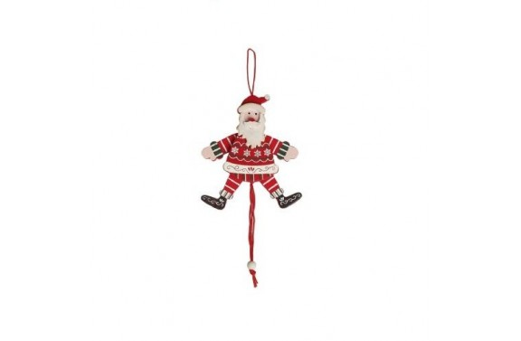 Dancing Santa Christmas Tree Decoration