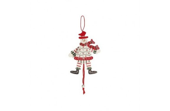 Dancing Snowman Christmas Tree Decoration