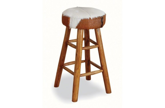 Large Goats Skin Stool