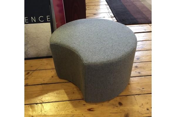 Crescent Grey Wool Pod