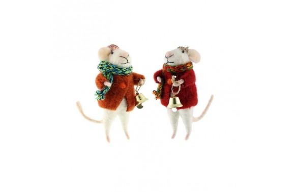 Christmas mouse decoration