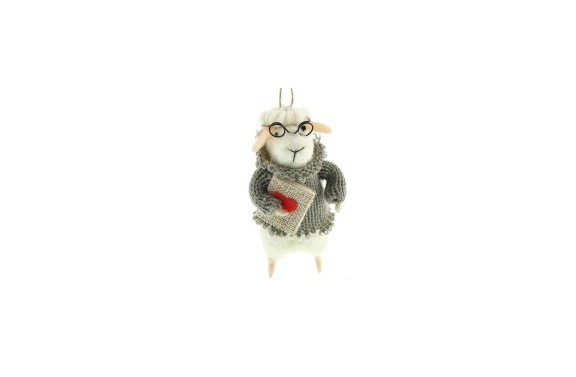 Novelist Sheep Decoration