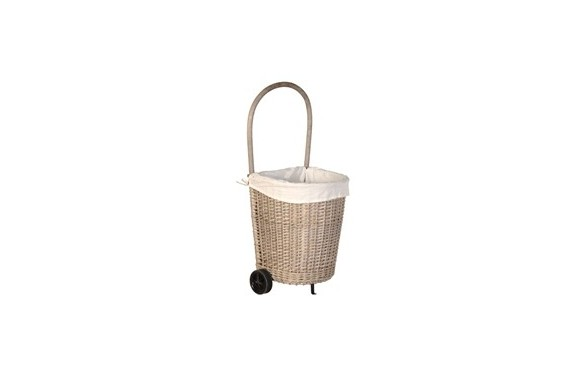 Willow Wheelie Basket