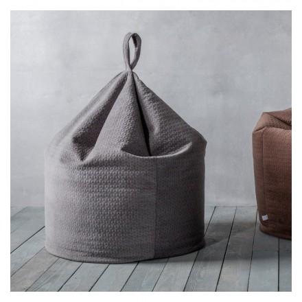 Charcoal Grey Beanbag
