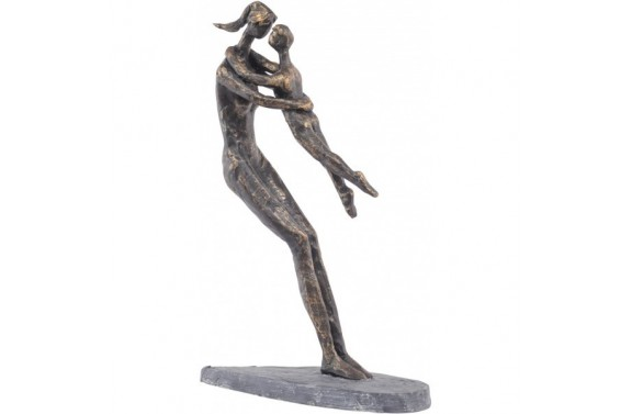 Bronze Resin Mother & Child