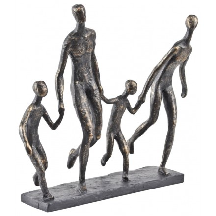 Bronze Family Sculpture