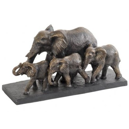 Bronze Parade of Elephants