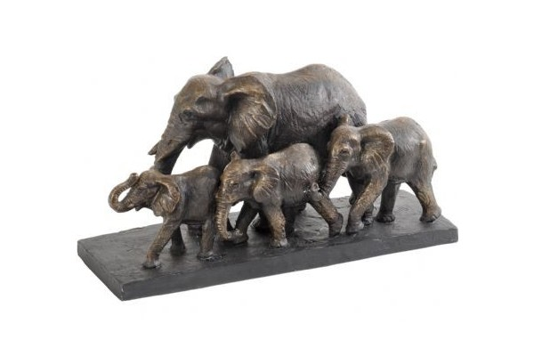Bronze Parade of Elephants