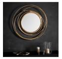 Satin Gold Whirlpool Mirror