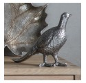 Silver Plated Partridge Figure