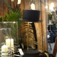 Black Top Hat Table Lamp