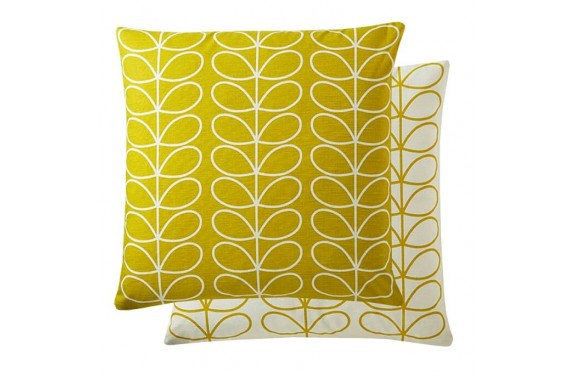 Orla Kiely Linear Stem Cushion - Sunflower