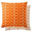Orla Kiely Linear Stem Cushion - Persimmon