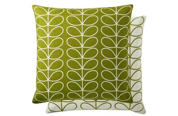 Orla Kiely Linear Stem Cushion - Apple