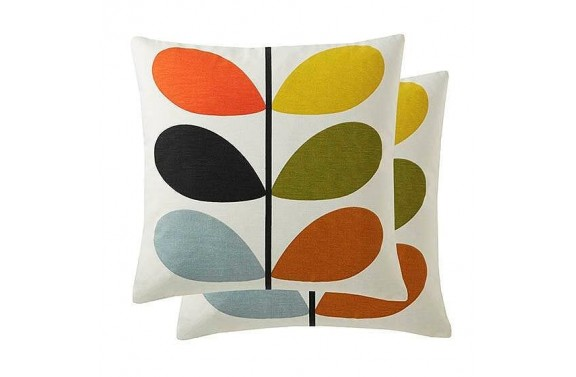 Orla Kiely Multi Stem Cushion - Multi