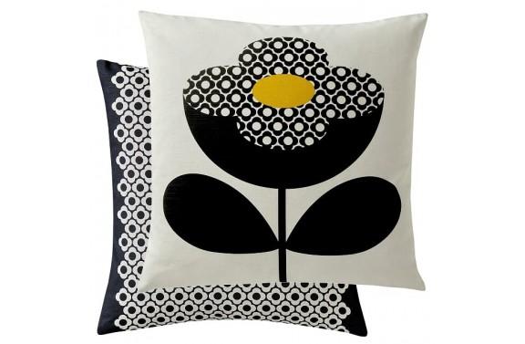 Orla Kiely Buttercup Stem Cushion - Buttercup