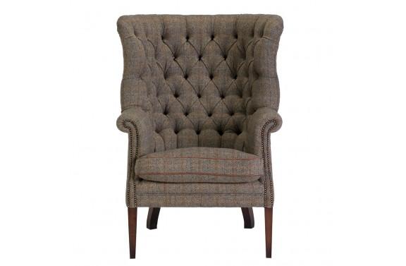 Tetrad Harris Tweed Mackenzie wing chair