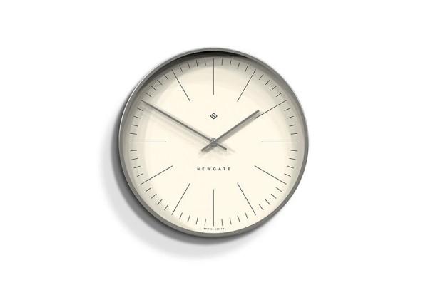 Newgate Oslo Clock - Silver