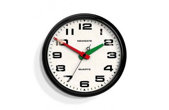 Newgate Brixton Clock - Black