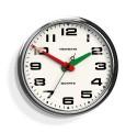 Newgate Brixton Clock - Chrome