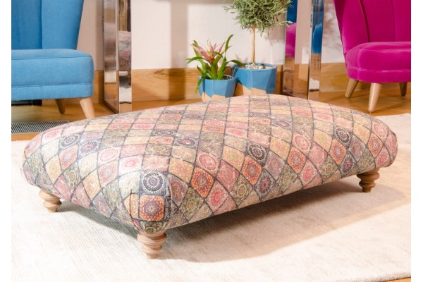 Dulwich Wrap Over Footstool - Anna Morgan