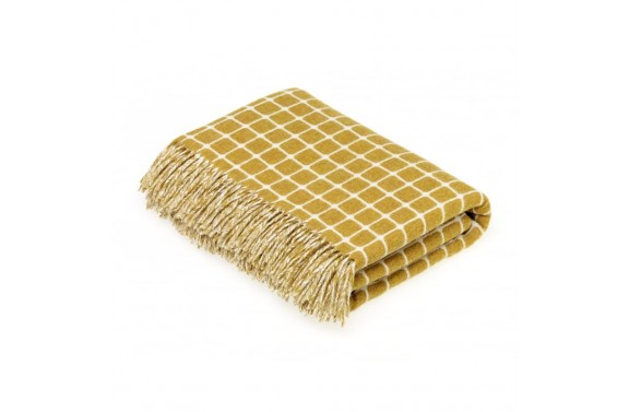 Athens Gold Wool Throw