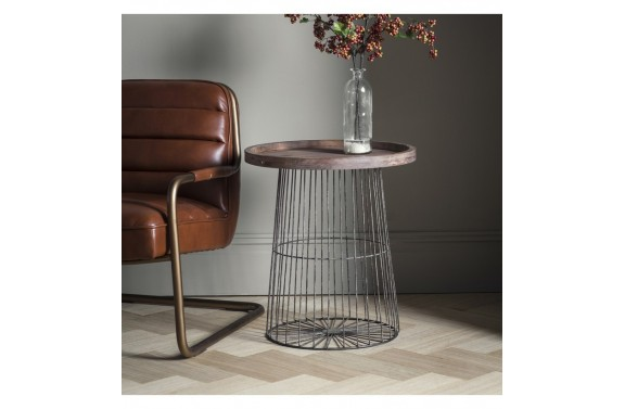 Metal Caged Coffee Table