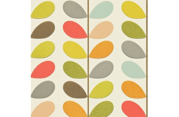 Orla Kiely Multi Stem Wallpaper- Original