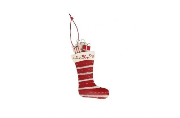 Red Stocking Christmas Tree Decoration