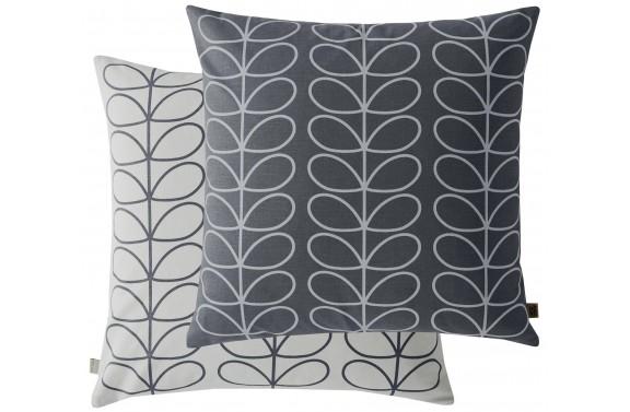 Orla Kiely Linear Stem Cushion - Grey