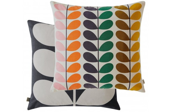 Orla Kiely Duo Multi Stem Cushion - Multi