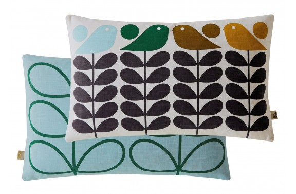 Orla Kiely Early Bird Rectangular Cushion - Spring