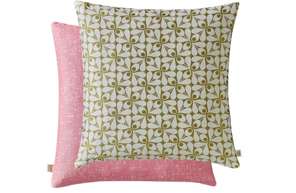 Orla Kiely Acorn Cup Cushion - Moss