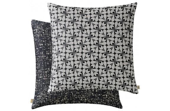 Orla Kiely Acorn Cup Cushion - Charcoal