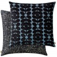 Orla Kiely Sixties Stem Cushion - Dark Marine