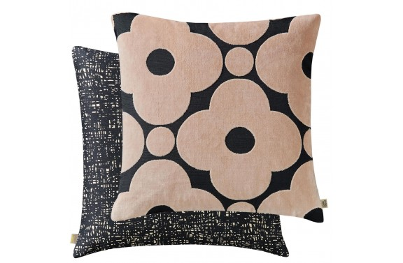Orla Kiely Spot Flower Cushion - Tea Rose